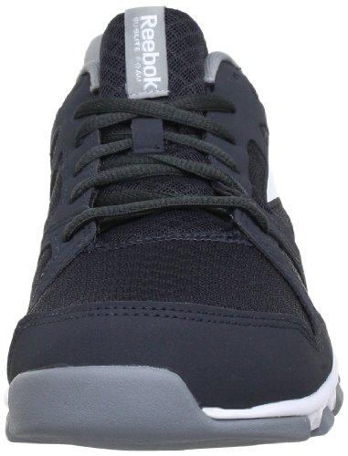 Reebok SUBLITE TRAIN 1.0 - Zapatillas de correr de material sintético hombre gris - Grau (GRAVEL/FLAT GREY/WHITE)