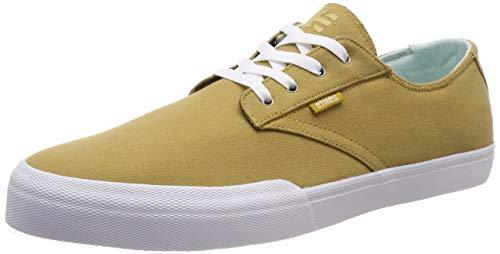 Etnies Men's Jameson Vulc LS Skate Shoe TAN/White 8.5 Medium US