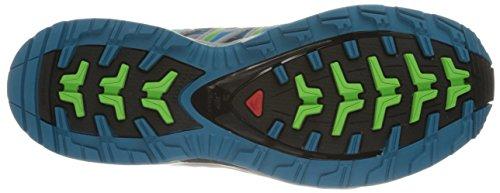Salomon Pro 3d Des Femmes De Xa Cs Imperméable Avec Le Brouillard De Chaussures De Trail Bleu / Lumière Onix / Igloo Bleu