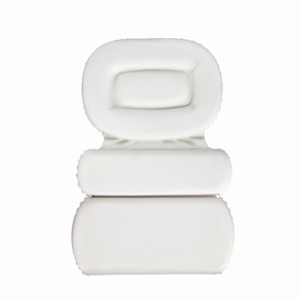 weiwei Cuscino per vasca da bagno Cuscino per vasca da bagno, bianca, Taglia unica WEI
