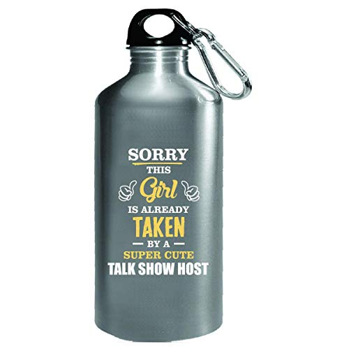 This Girl Is Taken By A Super Cute Talk Show Host - Water Bottle