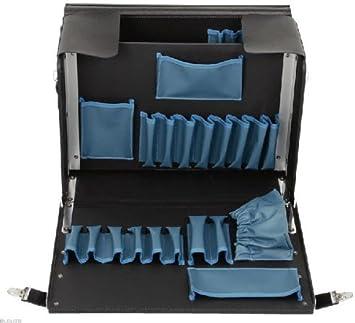 KS Tools 850.0315 Bolsa de herramientas de cuero, vacía (tamaño: 430 x 190 x 340 mm), 405x185x280mm: Amazon.es: Bricolaje y herramientas