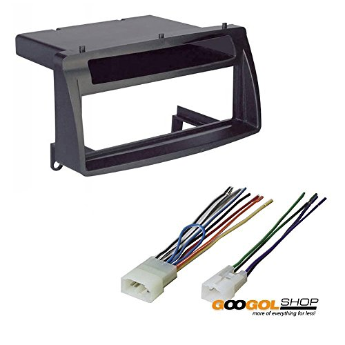 Mount Install Kit (Toyota Corolla Single Din Car Stereo Radio Install Dash Mount Kit Wiring Harness)