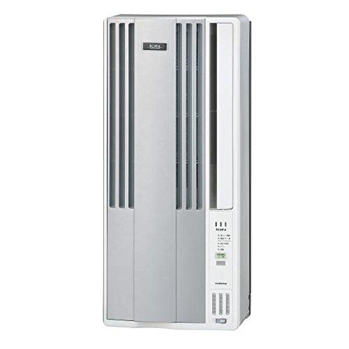 コロナ 冷房専用窓用エアコン KuaL シルバーメタリック CW-A161E6(S)