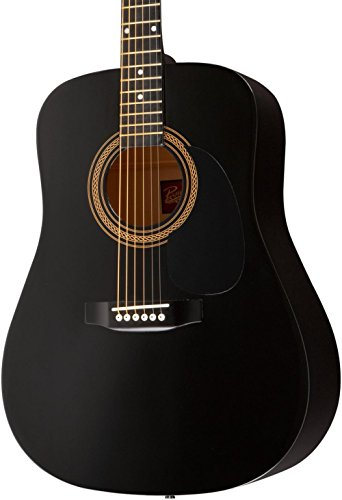 Rogue RA-090 Dreadnought Acoustic Guitar Black
