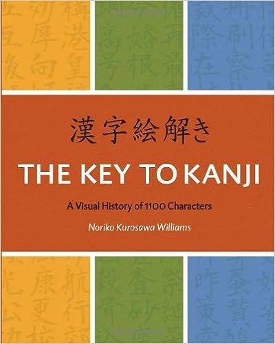Amazon The Key To Kanji A Visual History Of 1100 Characters