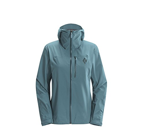 Price comparison product image Black Diamond Women's Sharp End Shell Jacket, Caspian - XLG