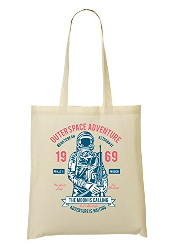 Outerspace Adventure Is Calling The Moon Handbag Shopping Bag