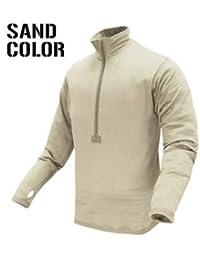 CONDOR 603-004-XL BASE II Zip Pullover Coyote Sand XL