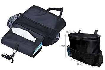 Multi-Pocket Autositz R/ücksitz Organizer Thermo R/ückenlehnenschutz Tasche Kinder R/ücksitztasche Travel Warm//Kalt Organizer Bag Schwarz Apanphy/® Auto Isolierung Organizers Aufbewahrungs