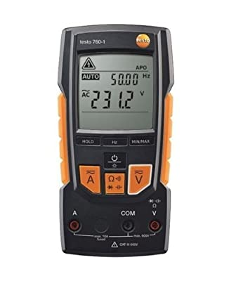 TestHelper TESTO 760-1 Digital Multimeter Basic Accurac Current Voltage Resistance Testing