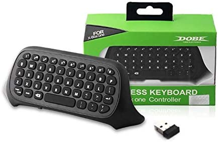 Wireless Keyboard For Xbox One Mini Wireless 2.4GHz Keyboard Keypad Online Chat Pad Controller USB Receiver Game Accessory