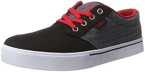 etnies Kids Jameson 2 Eco, Zapatillas Unisex Niños Schwarz (Black/Red/Grey)