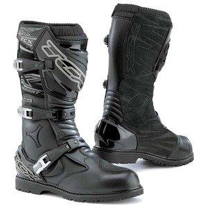 Desert Footwear (TCX X-Desert GTX Men's Street Motorcycle Boots - Black / US 8.5 / Size)