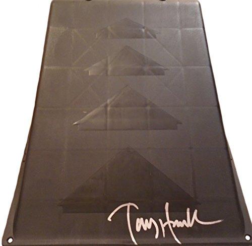 - Tony Hawk Autographed Hand Signed Black Kryptonics Skateboarding Ramp with Exact Proof Photo of Tony Signing and PSA DNA Authenticated COA