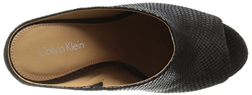 Dress Calvin Black Sandal Nola Klein Women's twqfw8Z