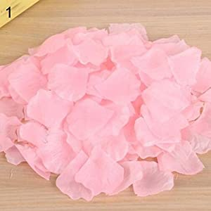 500Pcs Wedding Party Decoration Floral Confetti Artificial Rose Flower Petals Ameesi 99