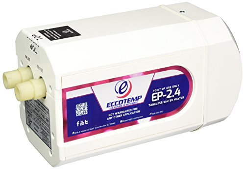 - Eccotemp EP-2.4 Point of Use Electric Hot Water Heater