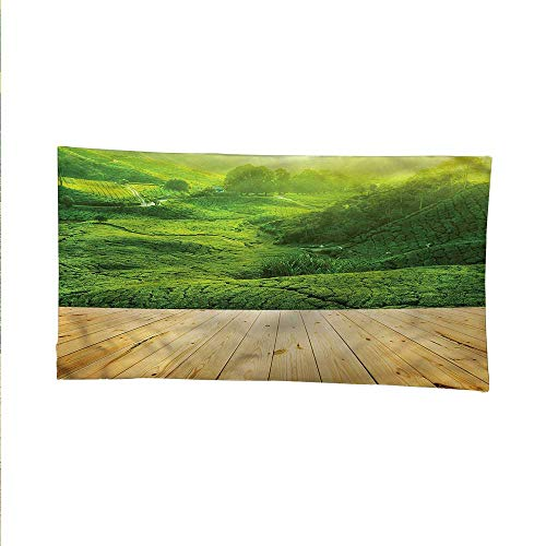 (Rusticspace tapestrywall Hanging tapestryHighlands Tea Plantations 84W x 70L Inch)