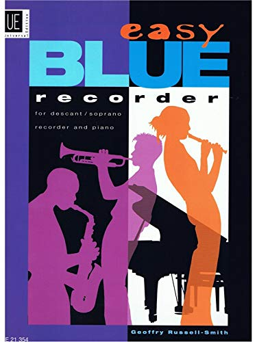 Read Online Easy Blue for Recorder and Piano by Geoffrey Russell-Smith ebook