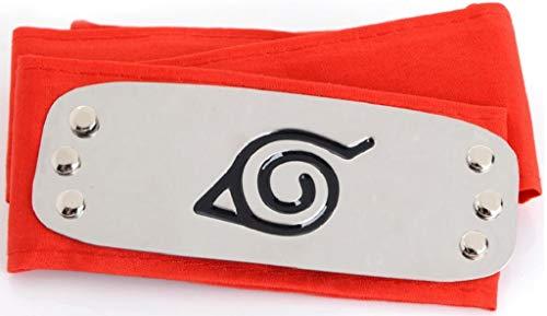 Ys&Ts Naruto Konoha Village Ninja Shinobi Cosplay Headband (Konoha, -