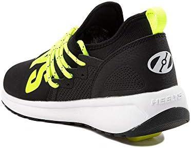 靴・シューズ キッズスニーカー Navigator Skate Shoe - Little Kid/Big Kid - Black/Yellow ブラック/イエロー US 13 (18cm) [並行輸入品]