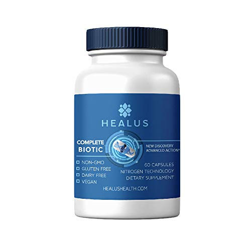 (Healus Complete Biotic Butyrate Supplement, Tributyrin Based Butyric Acid Capsules for Gut Health (60 Count))