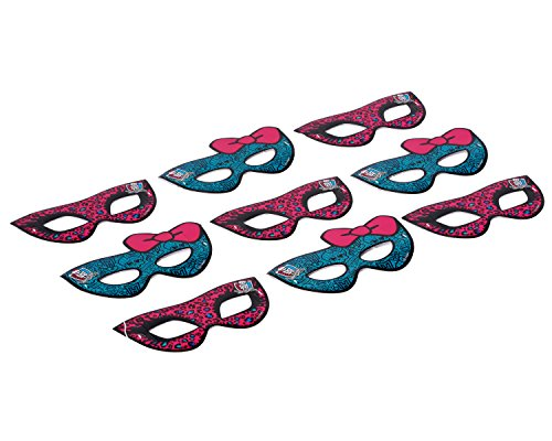 American Greetings Monster High Hats/Masks (Party Supplies) (8 - American Girl Monster High