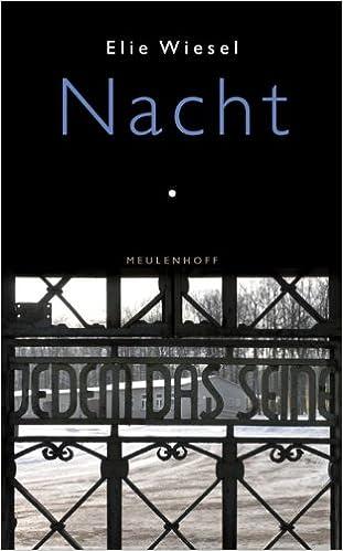 Nacht Amazoncouk Elie Wiesel 9789029086103 Books
