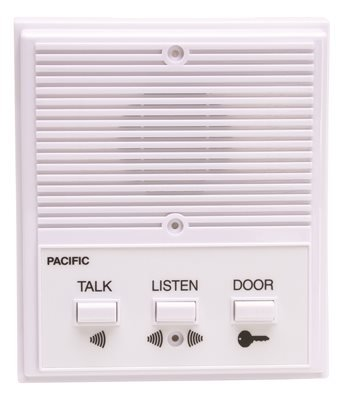 - PACIFIC ELECTRONICS 3406 PACIFIC ELECTRONICS Single Entrance INTERCOM System, 6 Wire (1/EA)