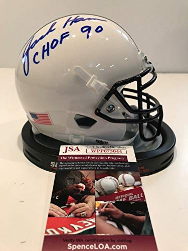 Jack Ham Autographed Signed Inscribed Penn State Mini Helmet - JSA Authentication ()