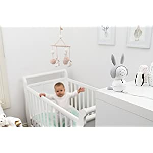 Arlo Baby Monitor | Smart WIFI Baby Camera 1080P HD with 2-Way Audio, Night Vision, Air Sensors, Lullaby Player, Night Light, Works with Amazon Alexa, HomeKit (ABC1000)