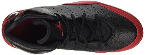 Nike Herren Jordan Flight Tradition Gymnastik Schwarz / Rot / Weiß (Schwarz / Gym Rot-Weiß)