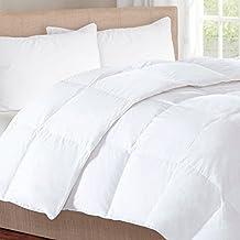 Herington All-Natural 500 GSM Australian Wool/Japara Cotton Full/Queen Comforter, White