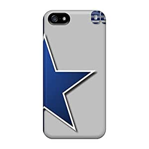 Fashion Tpu Cases For Iphone 5/5s- Dallas Cowboys Defender Cases Covers