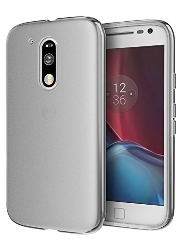 Cimo Moto G4 / G4 Plus Case [Matte] Premium Slim Protective Cover for Motorola Moto G 4th Generation/Moto G Plus (2016) - Smoke