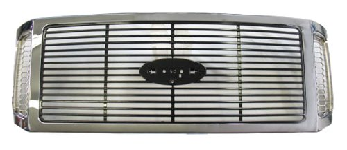 (OE Replacement Ford Super Duty Grille Assembly (Partslink Number FO1200459) )