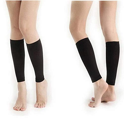 ningbao951 Women 420D Thin Leg Thigh Shaper Burn Fat Socks Compression Stovepipe Warmer Black Color Shape Up Thigh