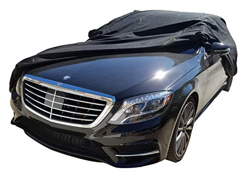 XtremeCoverPro 100% Breathable Car Cover for Select Mercedes S Class Sedan 300SE 300SEL 300SD 350SD 350SDL 420SEL 560SEL S320 S420 S500 S550 S600 S63 S65 1990 1991 1992 1993 1994 1995 1996 1997 1998 1999 2000 2001 2002 2003 2004 2005 2006 2007 2008 2009 2010 2011 2012 2013 2014 2015 (Jet Black)
