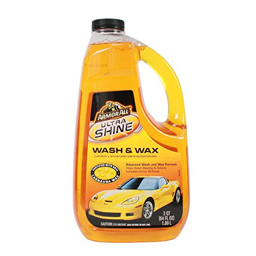 - Armor All Ultra Shine Wash & Wax (64 fluid ounces)