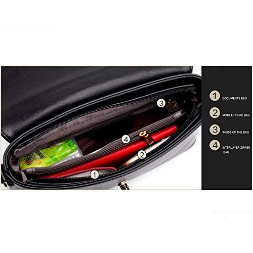 Tracolla Crocodile Borsa A Black Ufficio Messenger Bag Tzq 18 Viaggi Per Lavoro Cm 9 Donna 27 Modello Pu × dEqF0Bnxw