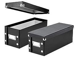 Snap-N-Store CD Storage Boxes, Set of 2 ...