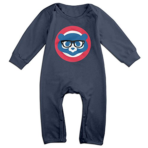 Funny Glasses Cubs 12Months Little Boys Onesie Romper