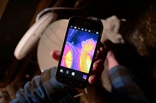 CAT PHONES S61 Rugged Waterproof Smartphone with integrated FLIR camera.