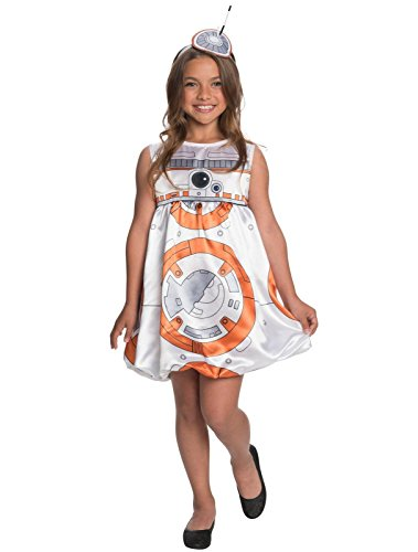 [Star Wars: The Force Awakens - BB-8 Child Dress Costume S] (Bb 8 Droid Costume)