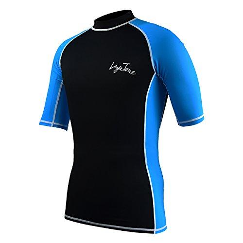 Long Sleeve T-shirt Wetsuit - Layatone Rash Guard for Men Women UV Sun Protection Dive Skin Swimwear Swimsuit Sports T-shirt for Swimming Surfing