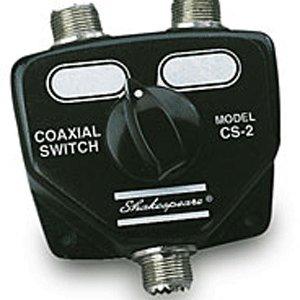2 Way Coax Switch - Shakespeare 2 Way Coaxial Switch