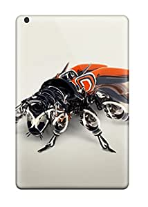 Juliam Beisel's Shop New Style 9081237I51309132 First-class Case Cover For Ipad Mini Dual Protection Cover Mechanical Bee