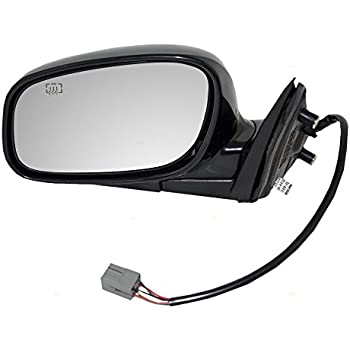 drivers power side view mirror heated smooth replacement for 98-04 lincoln  town car xw1z17682ba