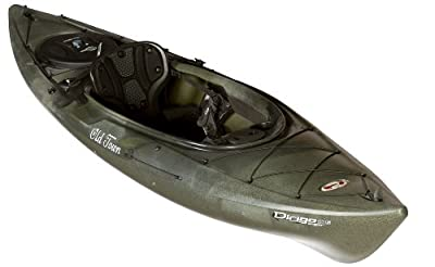 01 6820 1050 Old Town Canoes & Kayaks Johnson Outdoors Watercraft Dirigo  106 Angler Recreational Camouflage 10ft 6in Fishing Kayak